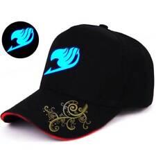 Glow In Dark Fairy Tail Guild Baseball Cap Strapback Golf Hat Trucker Visor Gift