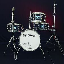 Odery Drums Cafe Kit Black Ash With Hardware!