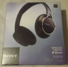 Auriculares Sony MDR10 negros con bluetooth/nfc, noise cancel y hi-res.
