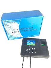 Realand AC020 Fingerprint Clock Biometric Time Attendance Record w/ USB PC Sync