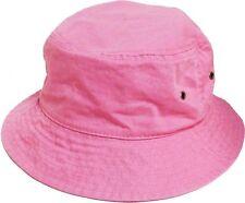 Bucket Hat Boonie Basic Hunting Fishing Outdoor Summer Cap Unisex 100% Cotton
