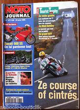 MOTO JOURNAL 29/6/1995; Ducati 900 ss/ Harley 1340 Dyna Super Glide/ Honda VT