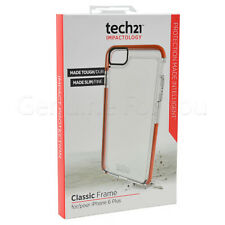 TECH21 CLASSIC FRAME CASE COVER FOR APPLE IPHONE 6+/6S+ - CLEAR - T21-4287