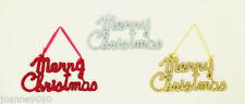 Guirlandes et bannières de fête rouge pour Noël pour la maison
