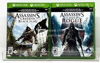 Assassin's Creed IV Black Flag + Rogue - Xbox One / Xbox 360 - Brand New