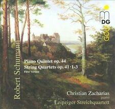 Schumann: Piano Quintet; String Quartets ~ New 2-CD Set (Apr-2010, 2 Discs, MDG)