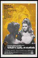 DADDY'S GONE A-HUNTING Movie POSTER 27x40 Carol White Paul Burke Scott Hylands