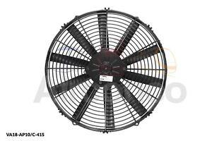 "Spal Axial Fan, VA18-AP10/C-41S, 12v (Push) 16"" (385mm) - Genuine Product!"