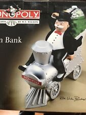 New ListingCeramic Mr. Monopoly Train Bank