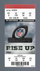 2010-11 NFL GREEN BAY PACKERS @ FALCONS DIVISIONAL PLAYOFF FULL UNUSED TICKET