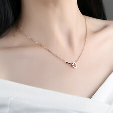 Stainless steel Women Necklace Sweet Heart Pendant 18'' Fashion Holiday Gifts