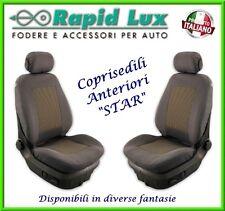 """Coppia fodere coprisedili anteriori Star per Fiat 500 X fantasia """"S780"""""""