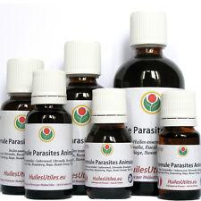 Formule Parasites Animaux: Huiles Essentielles Anti Puces Poux Tiques Moustiques