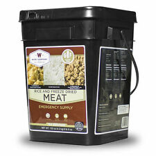 Wise Food ~ 104 Serving GLUTEN FREE Meat & Rice Bucket, Emergency Camping