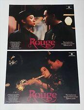 "Anita Mui Yim-Fong ""Rouge"" Leslie Cheung HK Original 1988 Set of 6 Lobby Cards"