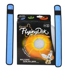 Blue LED Wrap Armbands 1pair Outdoor Sports Camping Sign D5C