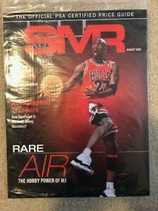 AUGUST 2020 NEW SMR Sports Market Report PSA Price Guide Michael Jordan Sealed