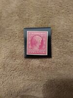 US stamp scott# 368 Lincoln Imperforate 1909 Mint