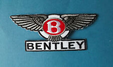 `BENTLY` MOTOR SPORT SEW OR IRON ON PATCH