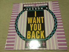 "MICHAEL JACKSON WITH JACKSON 5 SPANISH 12"" MAXI SPAIN I WANT YOU BACK 88 REMIX"