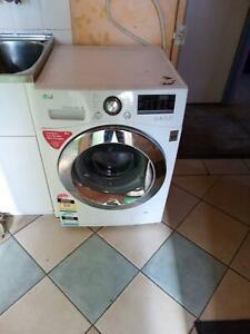 Washing Machine, LG Front Loader.