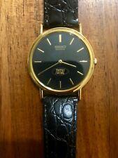"""Mens SEIKO """"Total"""" Collectors Quartz Watch - Rare!"""