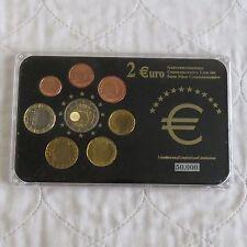 Lussemburgo 2007 COMMEMORATIVA 2 EURO ROMA NEL 8 MONETE EURO tipo Set-Pack