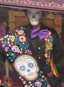2021 Barbie Signature Dia De Los Muertos Day of the Dead Ken Doll Brand New.