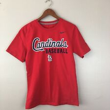 St. Louis Cardinals Baseball Nike Size Small Red Short Sleeve Shirt