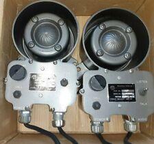 Pair Atkinson Dynamics Ad-27A Industrial Intercom , 120V, New In Box
