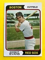 1974 topps Dwight Evans Bubble gum CARD #351 Vintage Baseball Boston Red Sox MLB