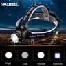 Wasserdicht 10000LM LED Zoom Scheinwerfer Stirnlampe Lampen Kopflampe 18650