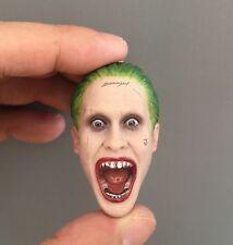 █ Custom Scream Joker 1/6 Head Sculpt for Hot Toys Suicide Squad Jared Leto Body