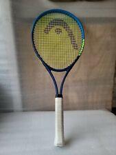 Head Ti Conquest Tennis Racquet 4 1/2-4 Green/blue Nano Titanium