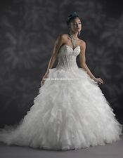 Plus Size Wedding Dress! Size 24 Ball gown Corset Top