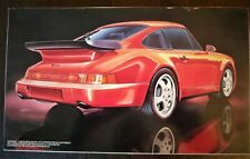 So Rad !! FUJIMI 1/24 PORSCHE 911 Turbo '91  Steal &  Nostalgic !