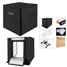 PHOTO STUDIO 60 CM LED LIGHT TENT CUBE LIGHTING BOX PHOTOGRAPHY BACKDROP EU PLUG