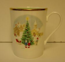 "Mikasa MERRY CHRISTMAS Coffee Mug (4"" Tall) BEST More Items Available"