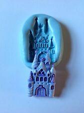 Castillo de Silicona Molde (Disney Princesa Cupcake Topper. Pasta de Azúcar. Niñas Cumpleaños