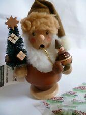 Räuchermann Weihnachtsmann natur   Christian Ulbricht Seiffen Neu Erzgebirge