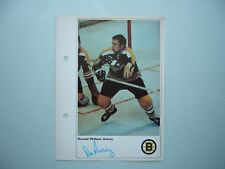 1971/72 TORONTO SUN NHL ACTION HOCKEY PHOTO DON AWREY SHARP!! TORONTO SUN