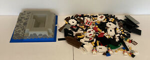 Lego Imperial Trading Post 6277 INCOMPLETE Pirates Vintage Minifigs Parts Pieces