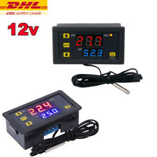 Temperaturregler Mit Fühler Thermostat 12V Digital Temperaturschalter -55~120°C