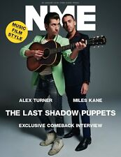 Alex Turner Miles Kane LAST SHADOW PUPPETS UK NME MAGAZINE JANUARY 2016 - NEW