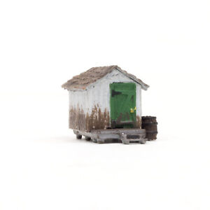 Woodland Scenics N Scale Built-Up Building/Structure Wood Shack