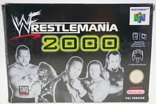 WWF Wrestlemania 2000 - komplett in OVP Nintendo 64 N64 boxed CIB
