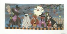 Liz / Susan Roberts Halloween March Handpainted Needlepoint Canvas R