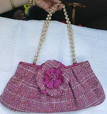 Violette Nozieres Plaid Bag with Detachable Flower Pin!