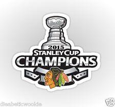 Chicago CHI Blackhawks Hockey ! Stanley Cup 2015 2013 Sticker decal car laptop