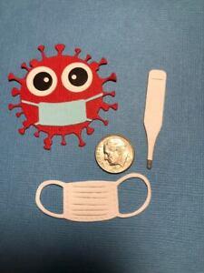 Virus #2 Premade PAPER Die Cuts / Scrapbook & Card Making